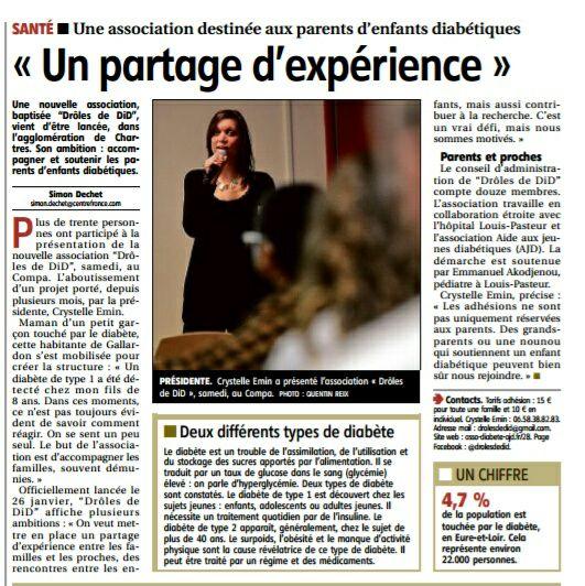 article écho républicain COMPA